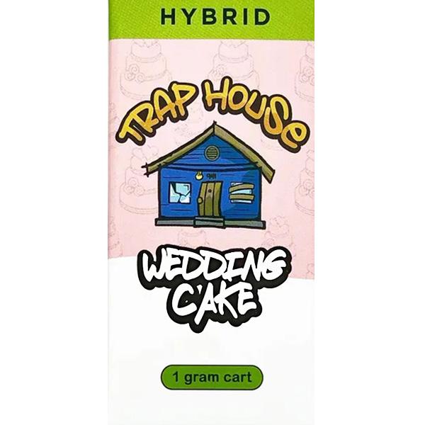 Trap House Delta 8 Vape Cartridge Wedding Cake 1ml