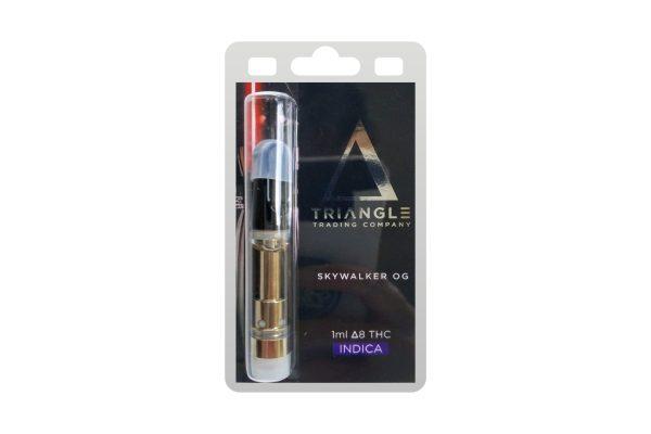 Triangle Trading Co Delta 8 Vape Cartridge Skywalker OG 1ml
