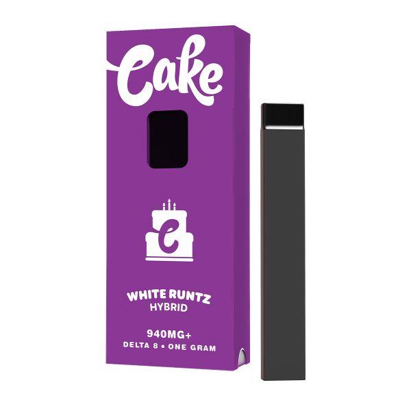 Cake Delta 8 Vape Pen White Runtz