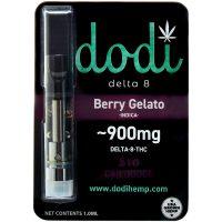 Dodi Delta 8 Vape Cartridge Berry Gelato 1ml