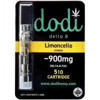 Dodi Delta 8 Vape Cartridge Limoncello 1ml