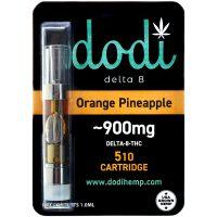 Dodi Delta 8 Vape Cartridge Orange Pineapple 1ml