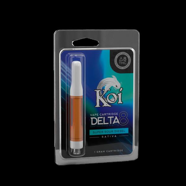Koi Delta 8 Vape Cartridge Super Sour Diesel 1ml