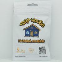 Trap House Delta 8 Gummies Florida Orange 300mg 6ct
