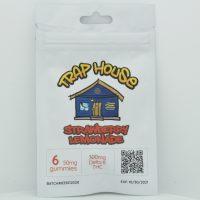 Trap House Delta 8 Gummies Strawberry Lemonade 300mg 6ct