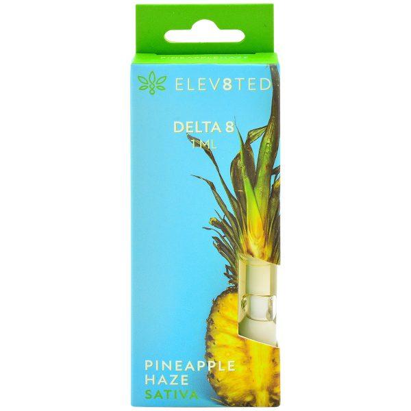 Elev8ted Delta 8 Vape Cartridge Pineapple Haze 1ml
