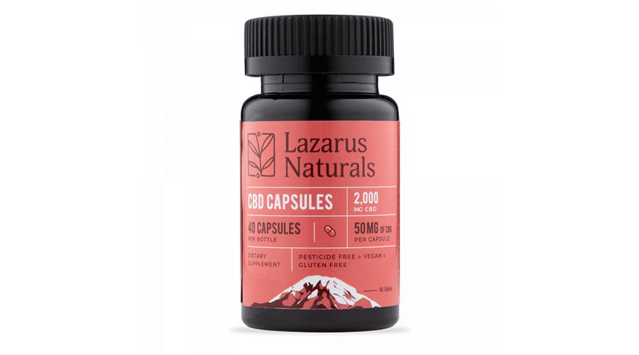 Lazarus Naturals 50mg Full Spectrum CBD Softgels Review