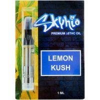 Skyhio Delta 8 Vape Cartridge Lemon Kush 1ml