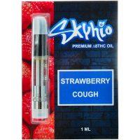 Skyhio Delta 8 Vape Cartridge Strawberry Cough 1ml