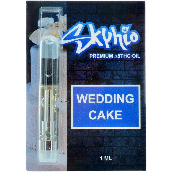 Skyhio Delta 8 Vape Cartridge Wedding Cake 1ml