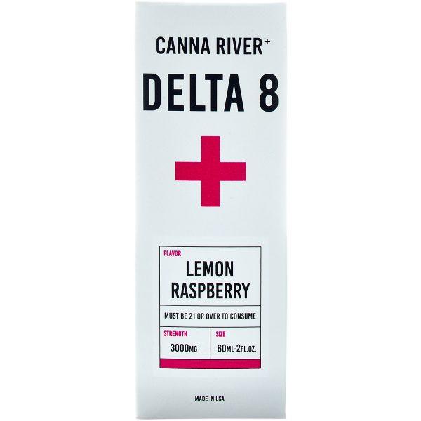 Canna River Delta 8 Tincture Lemon Raspberry 3000mg 60ml