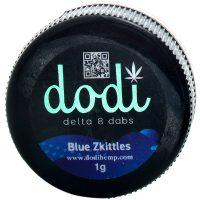 Dodi Delta 8 Dab Sauce Blue Zkittles