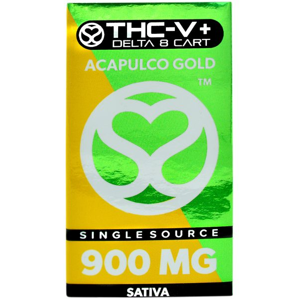 Single Source Delta 8 & THCV Vape Cartridge 1g Acapulco Gold