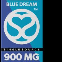 Single Source Delta 8 & THCV Vape Cartridge 1g Blue Dream