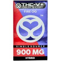 Single Source Delta 8 & THCV Vape Cartridge 1g Fire OG
