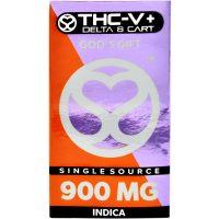 Single Source Delta 8 & THCV Vape Cartridge 1g God's Gift