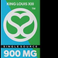 Single Source Delta 8 & THCV Vape Cartridge 1g King Louis XIII