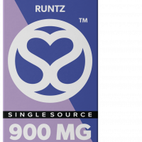 Single Source Delta 8 & THCV Vape Cartridge 1g Runtz