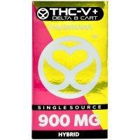 Single Source Delta 8 & THCV Vape Cartridge 1g Strawnana