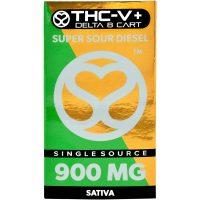 Single Source Delta 8 & THCV Vape Cartridge 1g Super Sour Diesel
