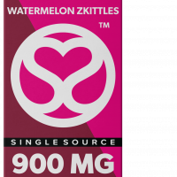 Single Source Delta 8 & THCV Vape Cartridge 1g Watermelon Zkittles
