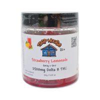 Trap House Delta 8 Gummies Strawberry Lemonade 2500mg 50ct