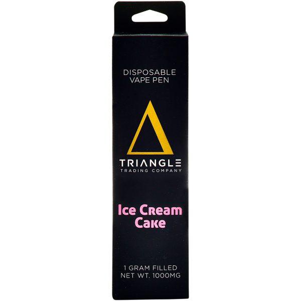 Triangle Trading Co Delta 8 Vape Pen Ice Cream Cake 1g