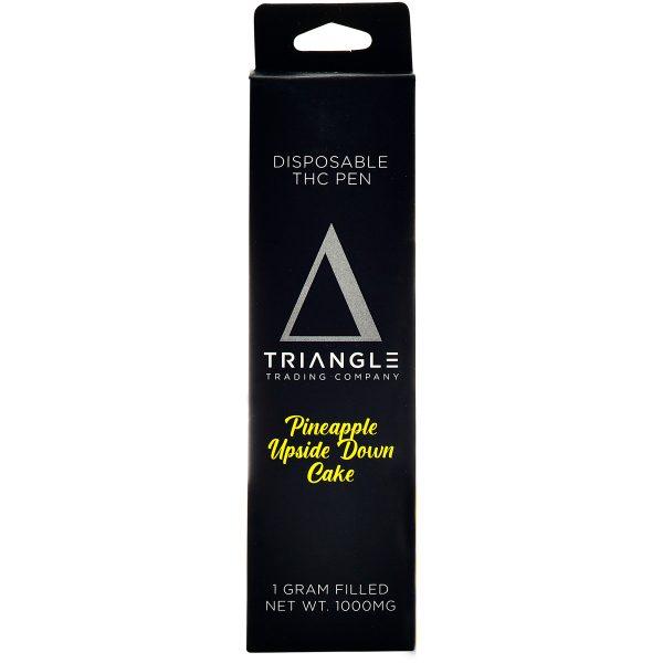 Triangle Trading Co Delta 8 Vape Pen Pineapple Upside Down Cake 1g