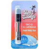 Bay Smokes THC-O Vape Cartridge Granddaddy Purple 1g