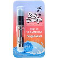 Bay Smokes THC-O Vape Cartridge Pineapple Express 1g