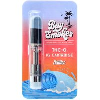 Bay Smokes THC-O Vape Cartridge Zkittles 1g