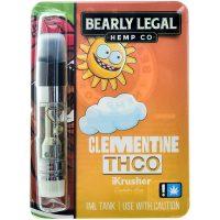 Bearly Legal Hemp THC-O Vape Cartridge Clementine 1ml