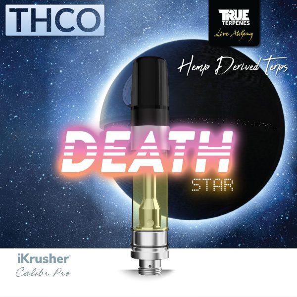 Bearly Legal Hemp THC-O Vape Cartridge Death Star 1ml