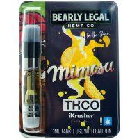 Bearly Legal Hemp THC-O Vape Cartridge Mimosa 1ml