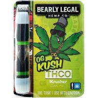Bearly Legal Hemp THC-O Vape Cartridge OG Kush 1ml