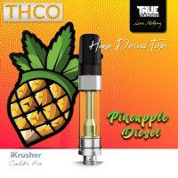 Bearly Legal Hemp THC-O Vape Cartridge Pineapple Diesel 1ml