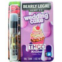 Bearly Legal Hemp THC-O Vape Cartridge Wedding Cake 1ml
