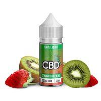 CBDfx Vape Juice Strawberry Kiwi 500mg 30ml