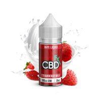 CBDfx Vape Juice Strawberry Milk 500mg 30ml