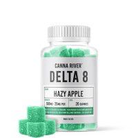Canna River Delta 8 Gummies Hazy Apple 500mg 20ct