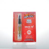 Dank Lite Delta 8 & Delta 10 Vape Cartridge King Louie 1g