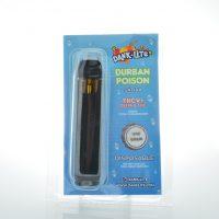 Dank Lite Delta 8 & THCV Vape Pen Durban Poison 1g