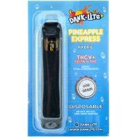 Dank Lite Delta 8 & THCV Vape Pen Pineapple Express 1g