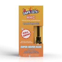 Dank Lite HHC Vape Cartridge Super Silver Haze 1g