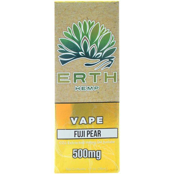 Erth Hemp CBD Vape Juice Fuji Pear 500mg 30ml