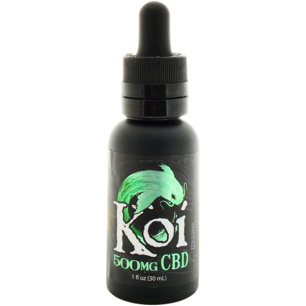 Koi CBD Vape Juice Watermelon Green Sour Apple 500mg 30ml
