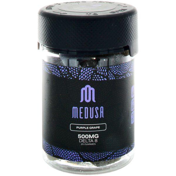 Medusa Delta 8 Gummies Purple Grape 500mg 20ct