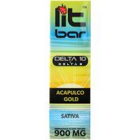Single Source Litbar Delta 8 & Delta 10 Vape Pen Acapulco Gold 1g