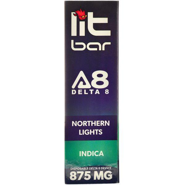 Single Source Litbar Delta 8 & Delta 10 Vape Pen Northern Lights 1g