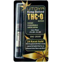Utoya THC-O Vape Cartridge 24 Karat Gold 1g